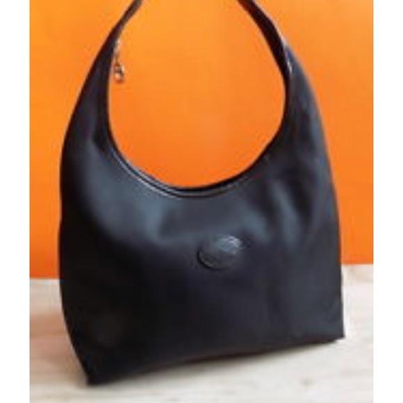 ebb2227dd385 Longchamp Handbags - Vintage Longchamp medium black bag